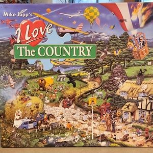 I Love The Country Puzzle